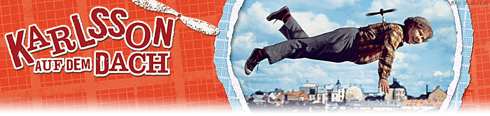Karlsson auf dem Dach